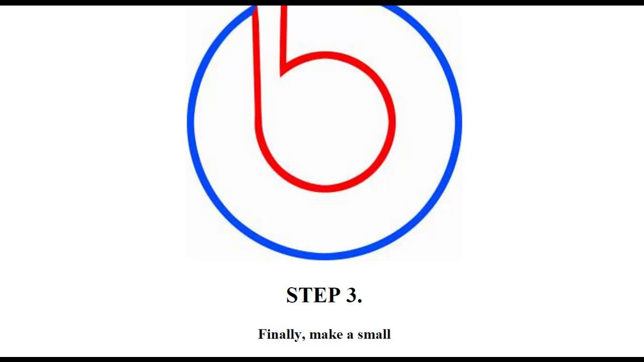 How To Draw Dre Beats Youtube