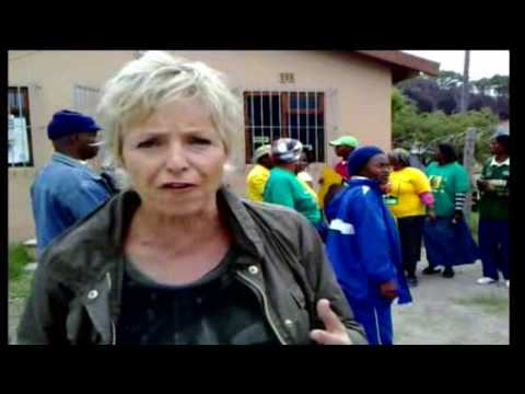 South Africa election reporter
