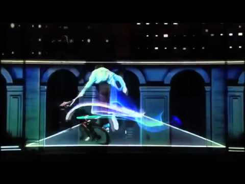 Adidas France   3D Mapping Projection