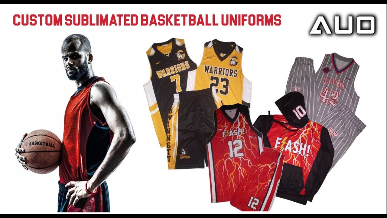 25a9c48b7 Sublimated Basketball Uniforms by Sublimated Sports Uniforms - YouTube