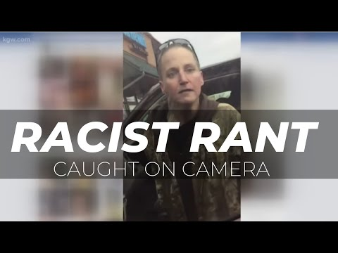 Racist rant caught on camera in McMinnville, Oregon