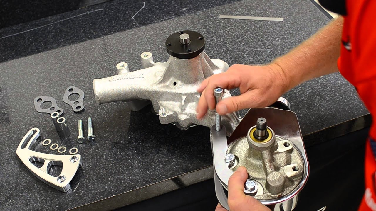March Performance Chevrolet Big Small Block Long Water Pump Mid Detailed A C Compressor Bracketry Installation Diagram Mount Kit Install Youtube