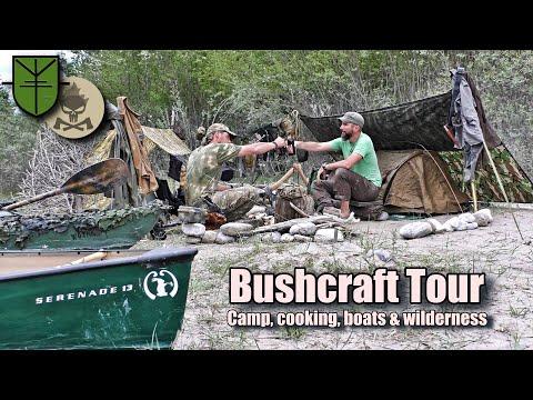 Bushcraft, Natur und kochen in Deutschland