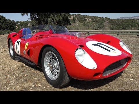 Driving a Le Mans winning 1960 Ferrari TR250 59/60 - 2017 Pebble Beach Week