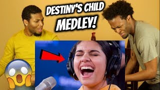 FIRST TIME REACTING  TO ALESSIA CARA (DESTINY'S CHILD MEDLEY) REACTION!!