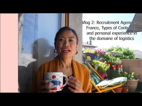 Vlog 2 Recruitment Agencies in France and Personal Experience in a Logistics Platform