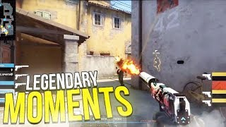 WHEN CSGO PROS MAKE LEGENDARY PLAYS (ICONIC MOMENTS)
