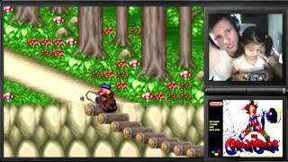 Kid Klown in Crazy Chase - SNES - Gameplay em Português PT-BR