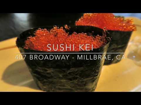 Sushi Kei: Hidden Sushi Joint in Millbrae, California