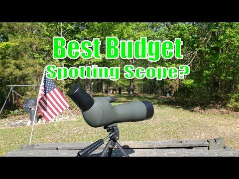 Best Budget Spotting Scope? OTW 20-60X