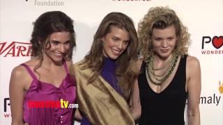 AnnaLynne McCord, Angel McCord, Rachel McCord at LIFE IS LOVE Event ARRIVALS