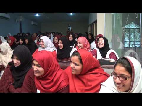 ILM College Sialkot Student's Motivational Session by Zulfiqar Mughal part 8