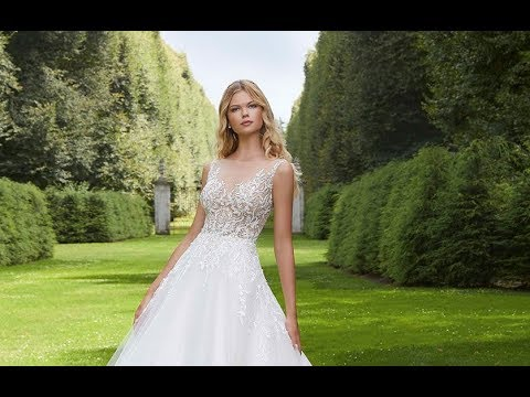 da13f0efa8e6 Mori Lee 2037 Paladia Wedding Dress - YouTube