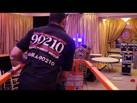 BEVERY HILTON Custom Stage & Lighting by 90210 Entertainment Group