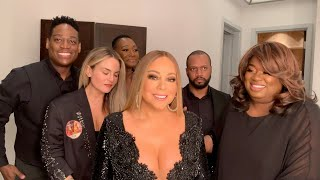 "Mariah Carey - ""Everything Fades Away"" - Backstage Rehearsals (with JoJo)"