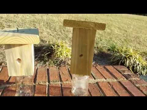 How To Build A Carpenter Bee Trap Out Of Scrap Wood