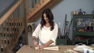 How to Create a Pinstripe Throw Pillow