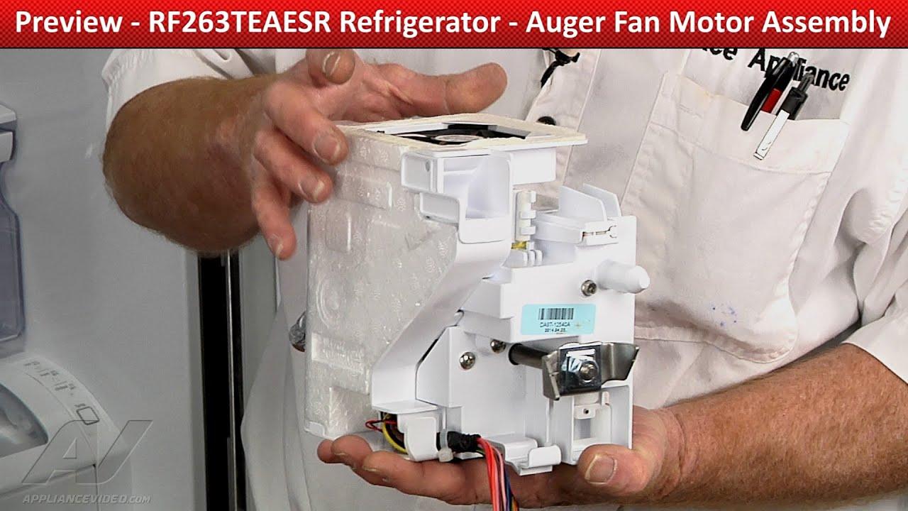 Auger Fan Motor Assembly - Samsung Refrigerator - Repair & Diagnostic