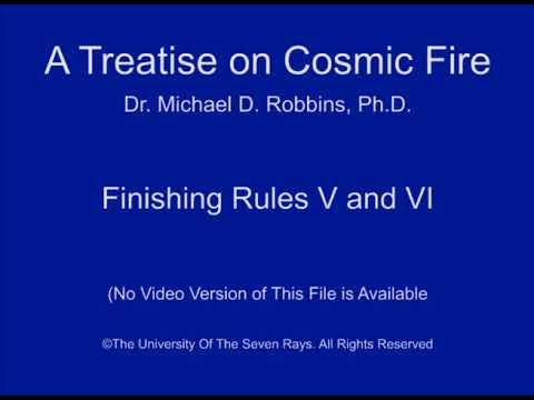 Finishing Rules V and VI