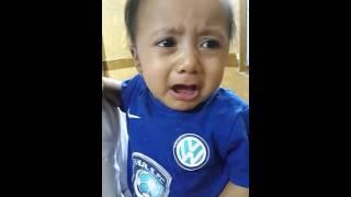 اصغر مشجع هلالي يبكي عشان الهلال ماشاءالله