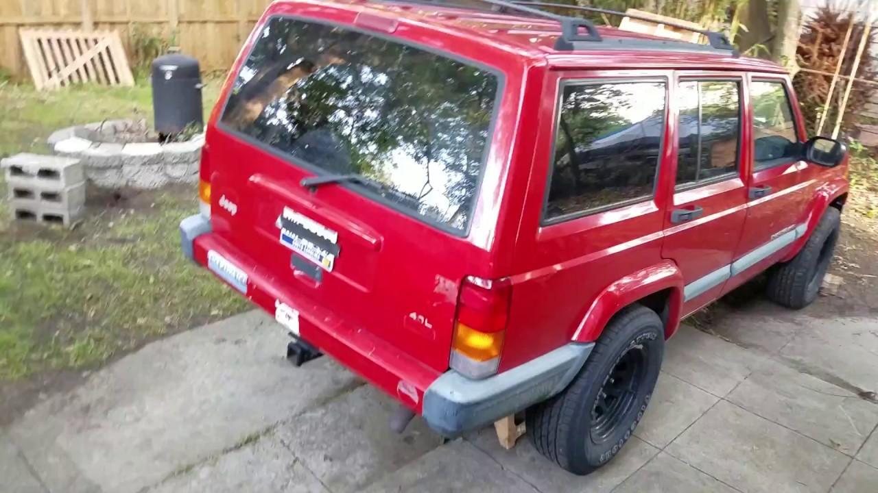 99 XJ Jeep Cherokee Fuel Pump Replacement