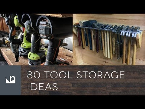 80 Tool Storage Ideas