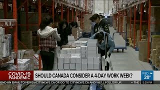Should Canada move to a four-day work week?