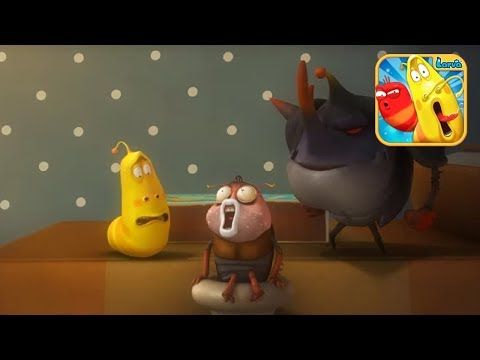 Ấu Trùng Tinh Nghịch Larva | Chiếc Bình Ma Thuật |Larva Terbaru Cartoon Movie