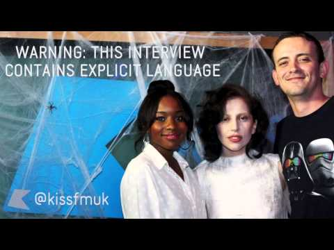 Lady Gaga talks ARTPOP, her home life & more at KISS FM (UK)