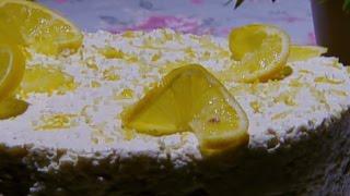 كيكة جوز الهند بالجبن الكريمي - غادة التلي