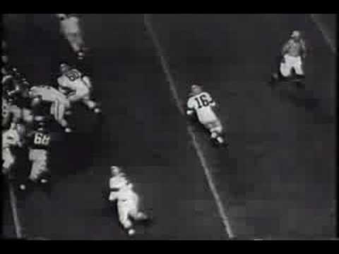 DARRAIN College All Stars v. Cleveland Browns Chicago 1955