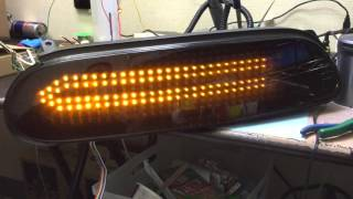 Car Shop GLOW Original Led Taillight For JZA80 Supra スープラ Ver.1 (流れるウィンカー仕様)