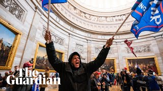 Pro-Trump mob storm Capitol as lawmakers meet to certify Biden's win