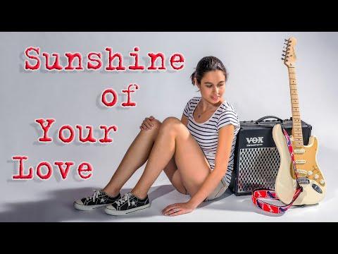 Cream / Eric Clapton / Sunshine of Your Love / Acoustic Cover / REHEARSAL / Anastasia Kochorva