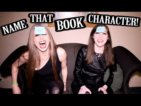 NAME THAT BOOK CHARACTER | XTINEMAY & KATYTASTIC