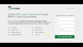 Adwords - Landing Page Optimization - Video 5