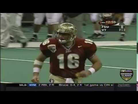 Seminole Moment: Chris Weinke's 14-Yard TD Pass to Ron Dugans (2000 BCS National Championship)