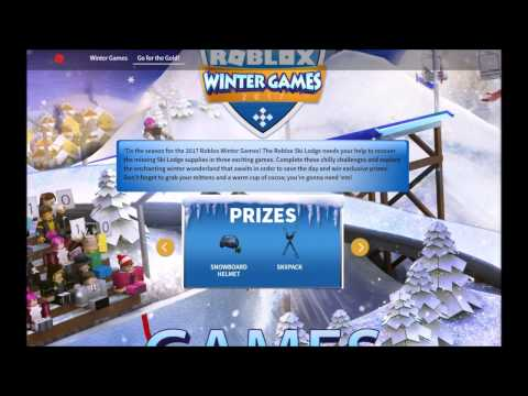 How to get all the event hats in ROBLOX Winter Games 2017