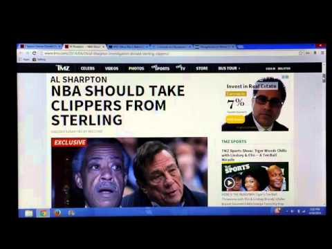 DONALD STERLING RACIST COMMENTS SHOWS SHARPTON AND JESSE JACKSON HYPOCRISY.