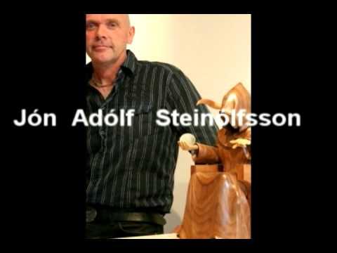 Exhibition Jón Adolf Steinólfsson, Sandgerði Iceland 2009