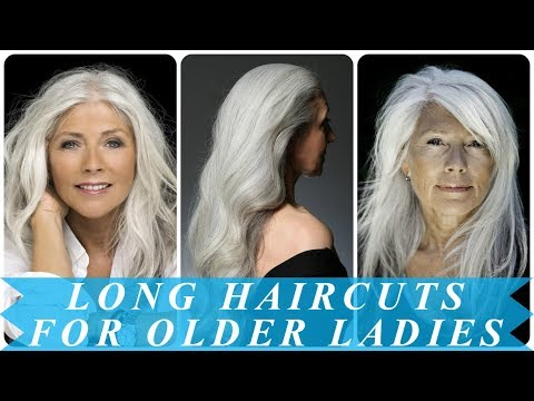 20 best ideas for hairstyles for older women with long hair