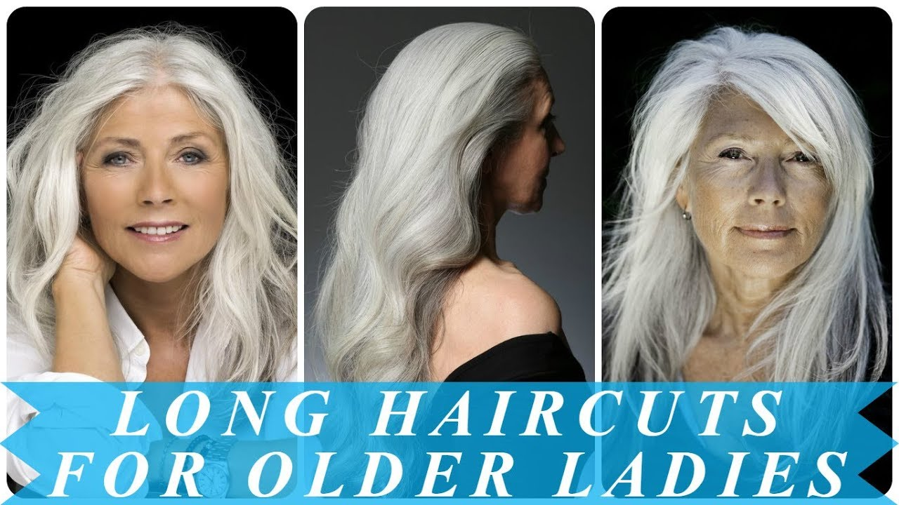 Older Women With Long Hair