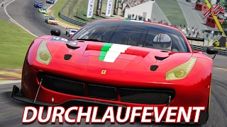 Durchlaufevent - LIVE | Assetto Corsa [HD] GT3 @ Spa-Francorchamps