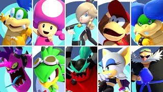 Mario & Sonic at the Tokyo 2020 Olympic Games - All Guest Characters