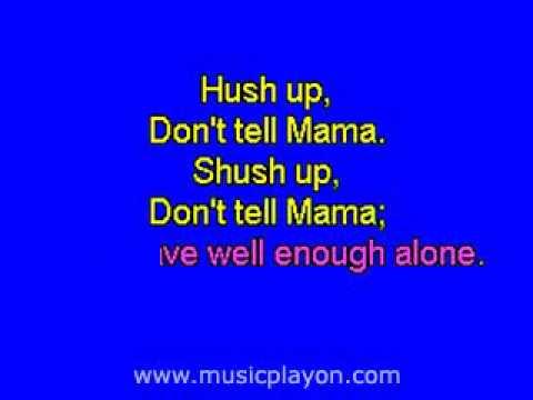 Don't Tell Mama Cabaret MusicPlayOn com