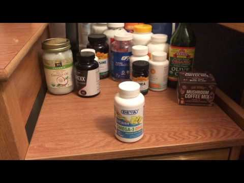 Omega 3 DHA, Coconut Oil, and Olive Oil