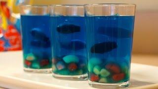 How To Make Mini Jello Aquariums