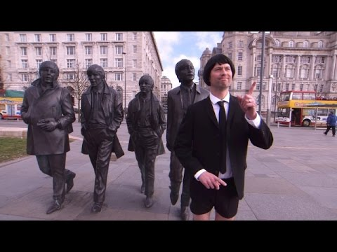 Andy Visits The Beatles Museum