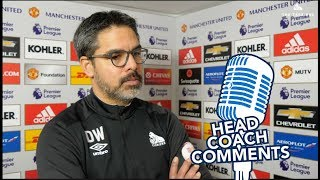 🧢HEAD COACH COMMENTS | David Wagner reviews Manchester United