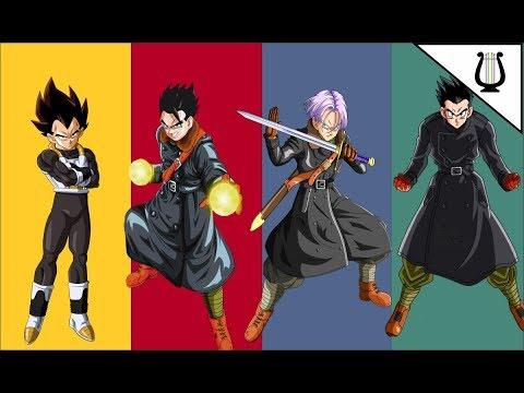 Todos los Personajes Xeno: Vegeta Xeno, Trunks Xeno, Gohan Xeno - Dragon Ball Heroes